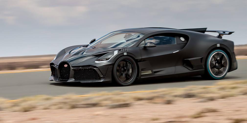 В Bugatti рассказали об экстремальных испытаниях гиперкара Divo 1
