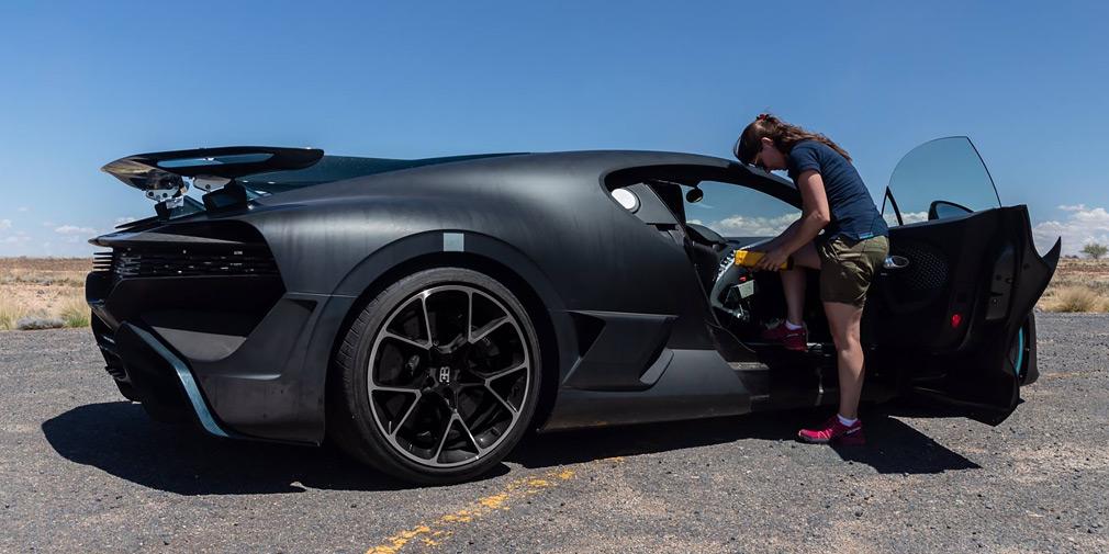 В Bugatti рассказали об экстремальных испытаниях гиперкара Divo 2