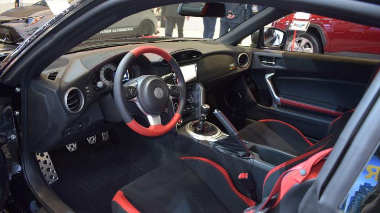 Toyota представила «прокачанный» GT86 1