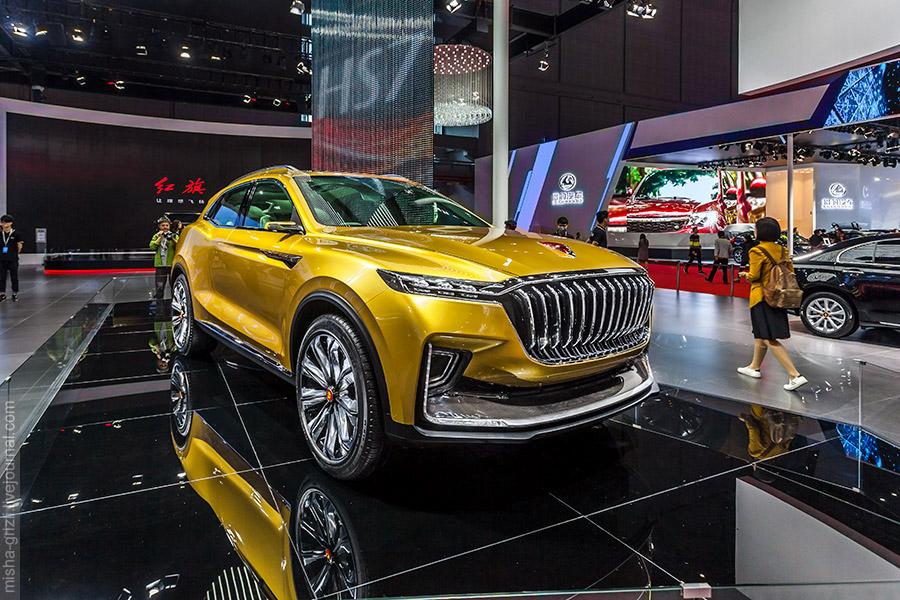 Hongqi HS5 станет конкурентом для BMW X3 1