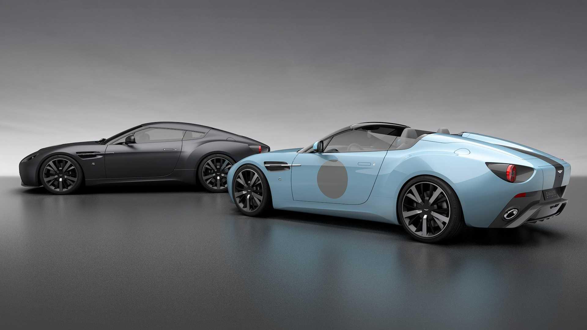 Aston Martin сделал особые Vantage по случаю 100-летия ателье Zagato 1