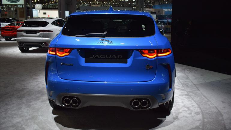 Jaguar представил новый F-Pace SVR 2
