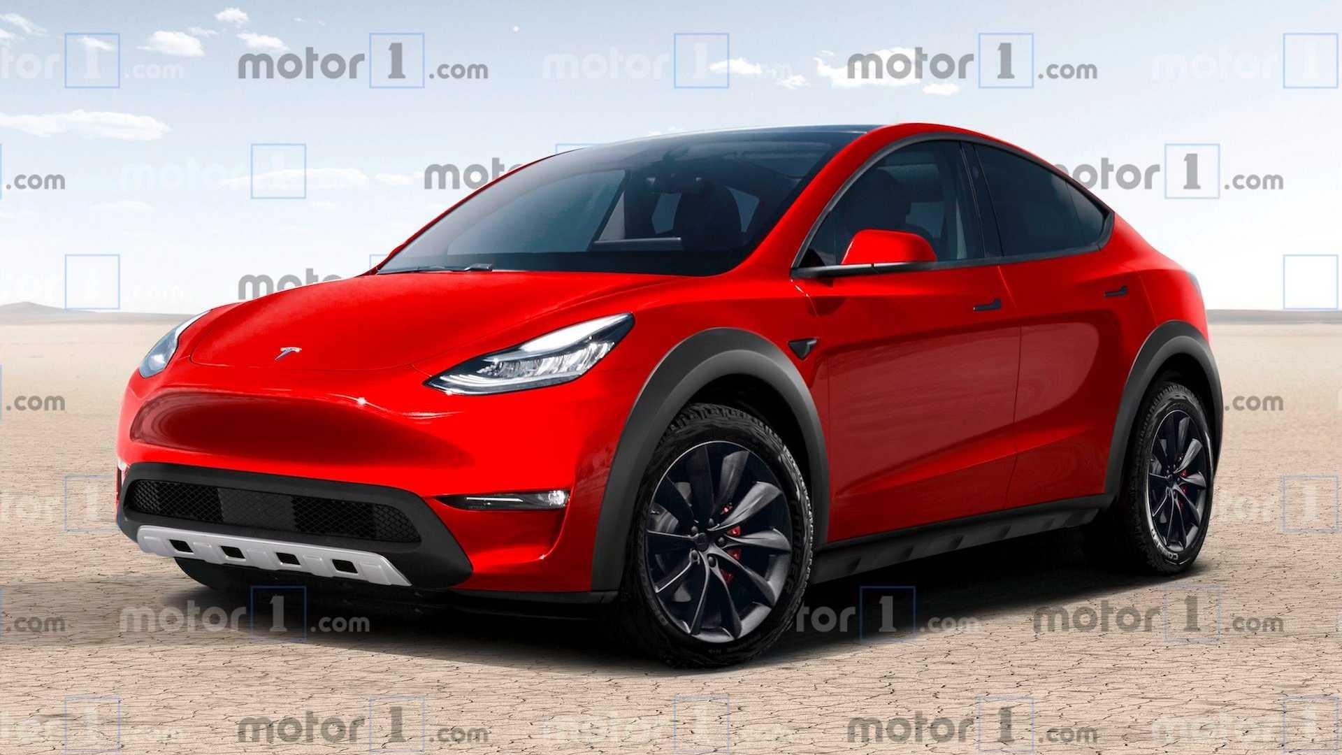 Tesla Model Y представили в виде хардкорного внедорожника 1