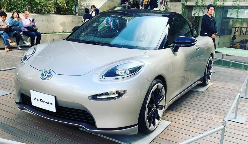 Загадочная Toyota La Coupe: всего лишь шоу-кар? 1