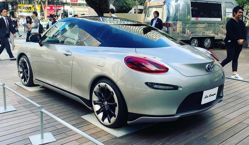 Загадочная Toyota La Coupe: всего лишь шоу-кар? 2