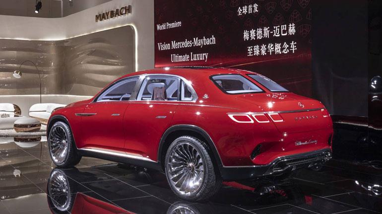 Mercedes-Benz заявил о выходе серийной версии концепта Vision Maybach 1
