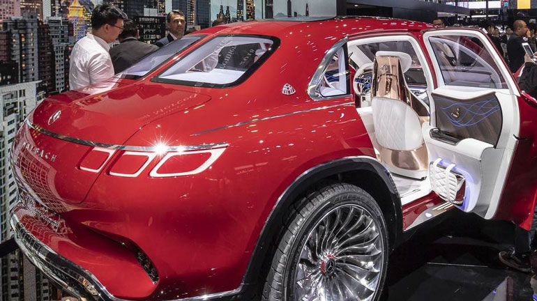 Mercedes-Benz заявил о выходе серийной версии концепта Vision Maybach 2