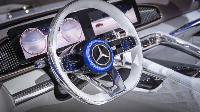 Mercedes-Benz заявил о выходе серийной версии концепта Vision Maybach 3