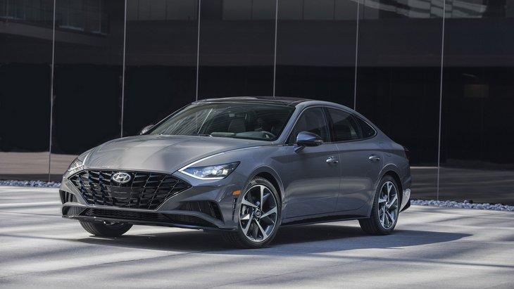 Hyundai представила новую Sonata 1