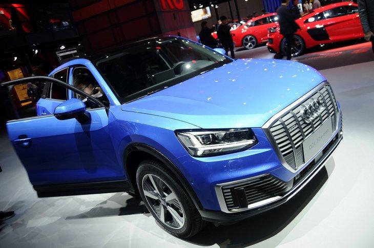 Audi показал электрический Q2L e-tron 1