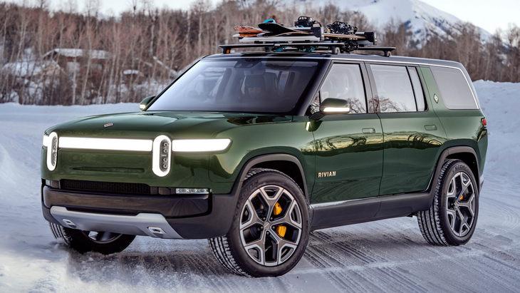 Американский Rivian выпустит шесть электромобилей к 2025 году 1