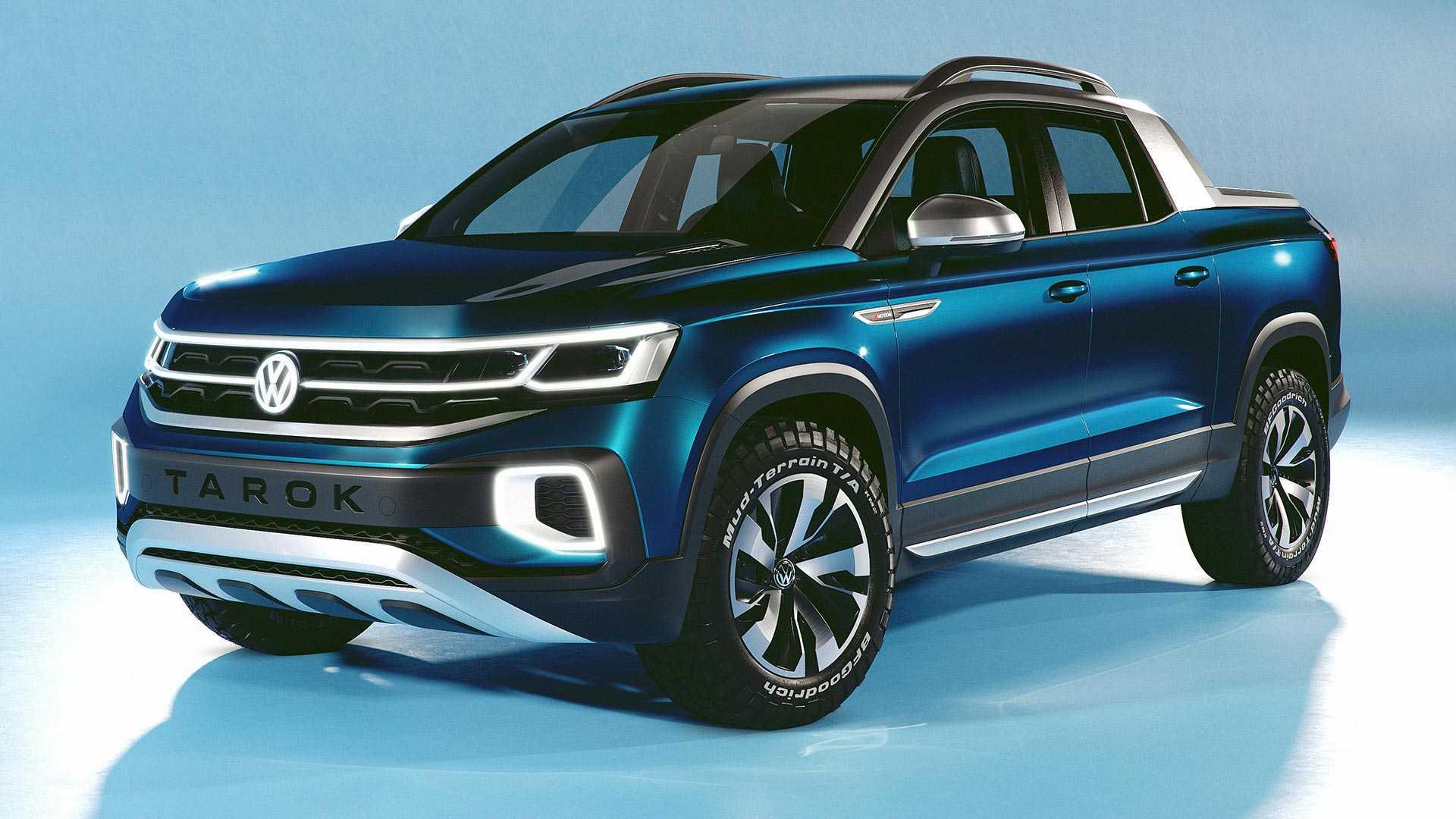 Volkswagen привёз концептуальный пикап Tarok в Нью-Йорк 1