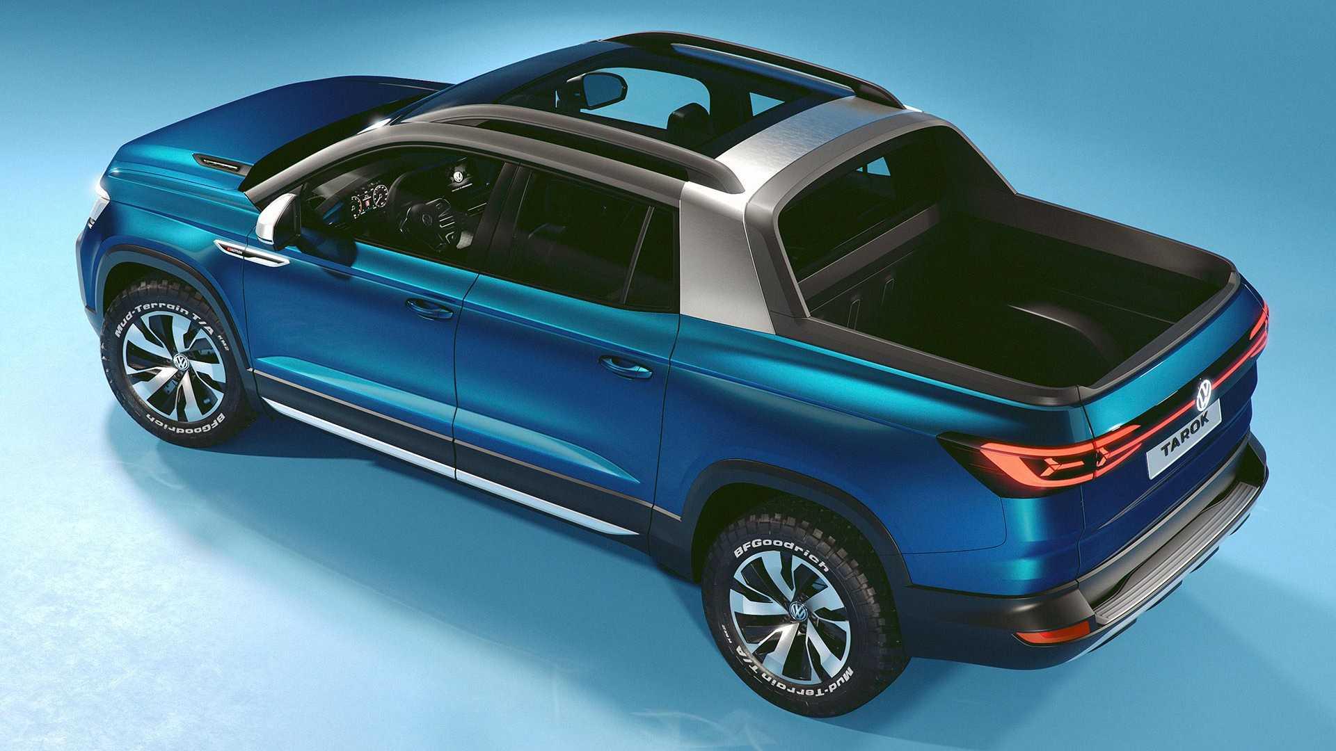 Volkswagen привёз концептуальный пикап Tarok в Нью-Йорк 2
