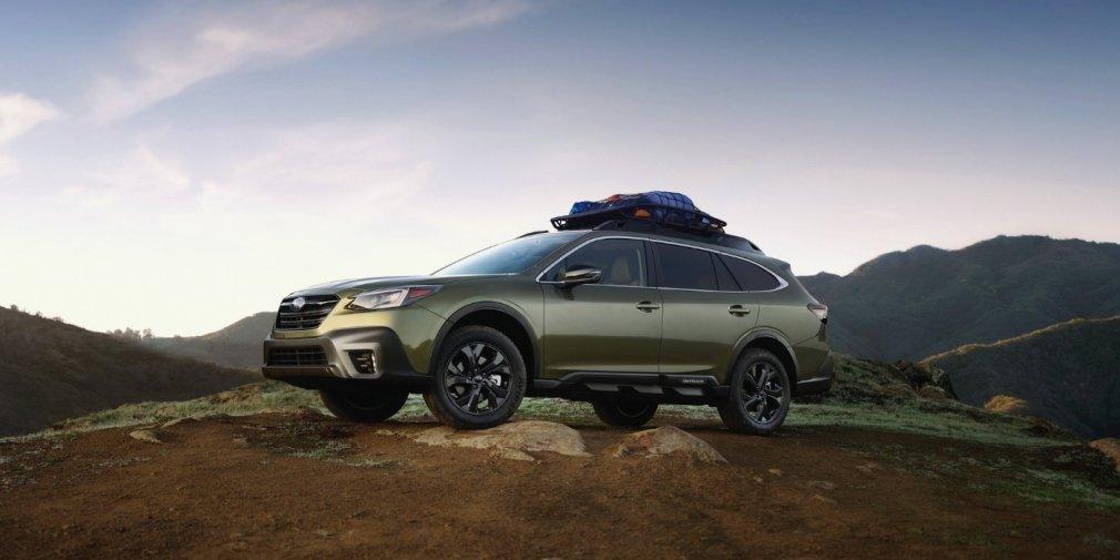 Новый Subaru Legacy получил турбомотор 1
