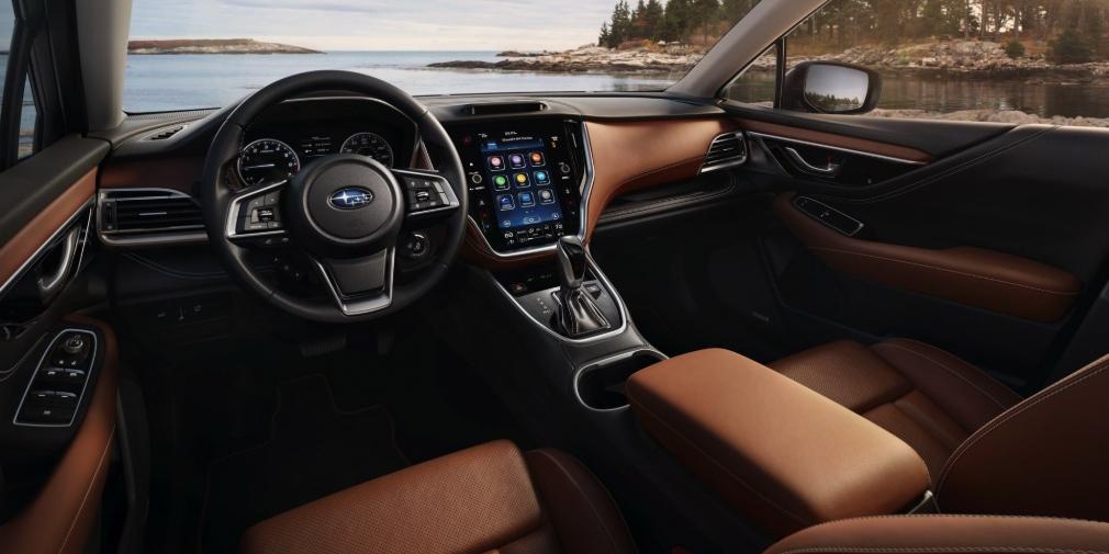 Новый Subaru Legacy получил турбомотор 2