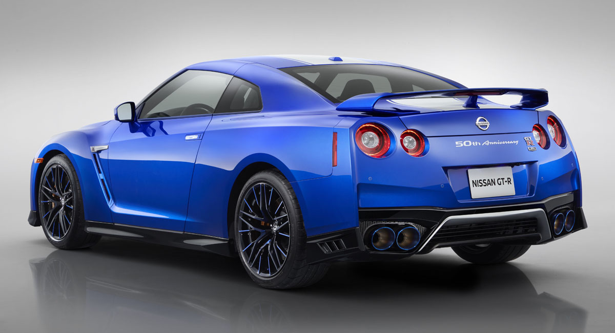 Nissan GT-R обновлен к 50-летнему юбилею 2