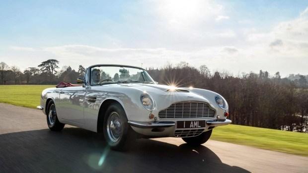 Aston Martin сделал из классической модели электромобиль 1