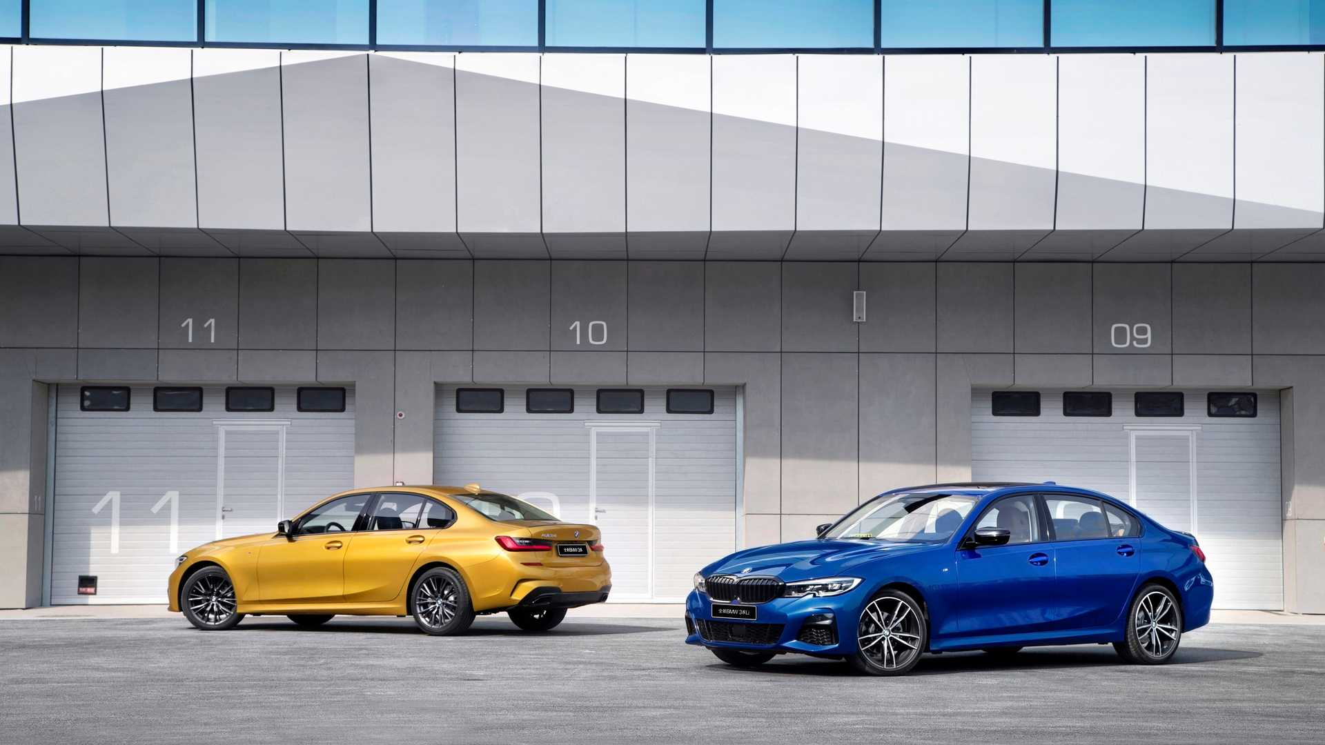 Новый BMW 3 Series удлинили специально для Китая 2