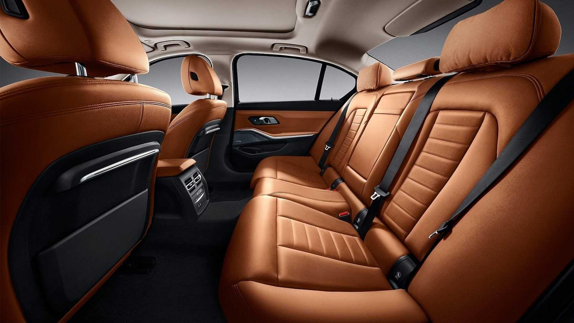 Новый BMW 3 Series удлинили специально для Китая 3
