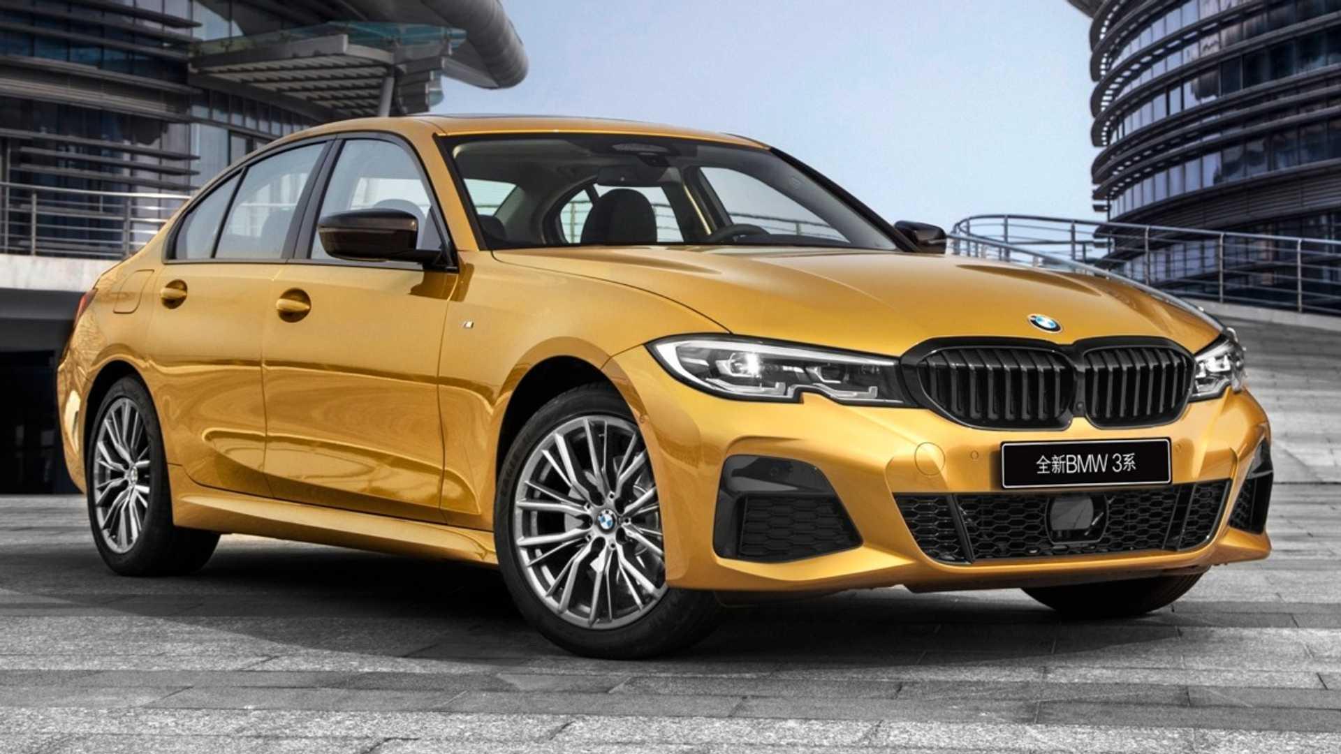 Новый BMW 3 Series удлинили специально для Китая 4