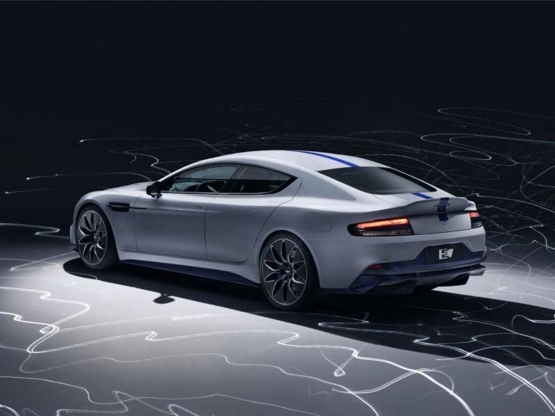 Aston Martin представил первую полностью электрическую модель 2