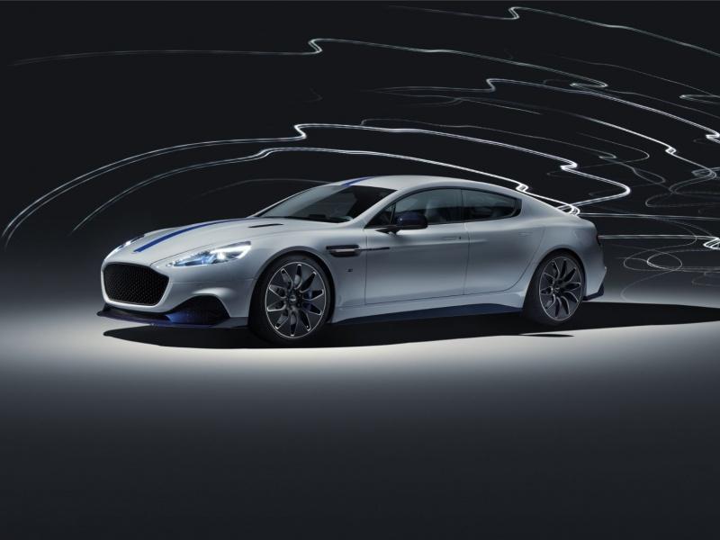 Aston Martin представил первую полностью электрическую модель 1