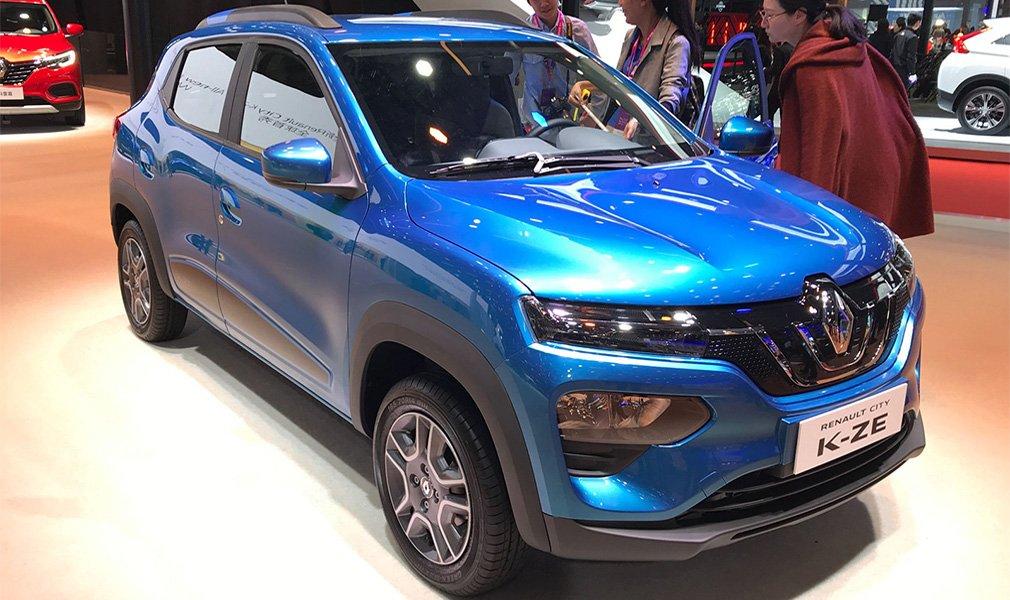 Renault запустил в серию доступный электрический кроссовер 1
