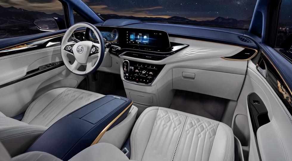 Buick GL8 Avenir получил салон на четверых и стал ещё роскошнее 2