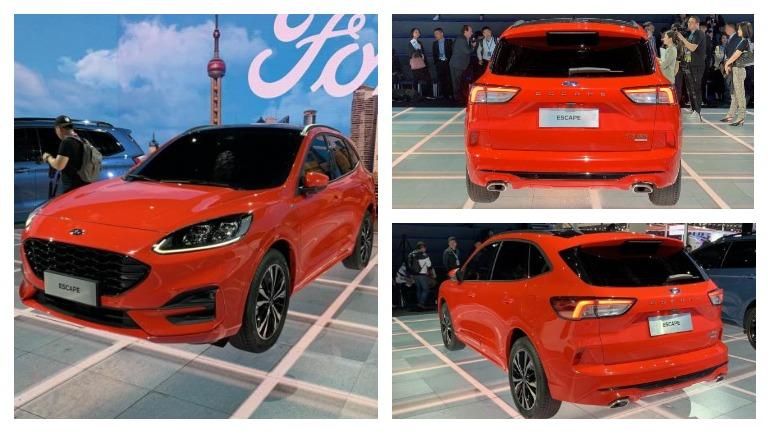 Ford в Шанхае презентовал новый Escape ST-Line 1