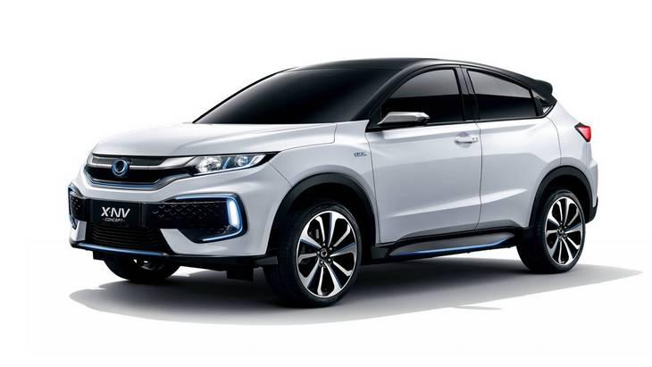 Honda запустит на рынок Китая электрический кроссовер на базе HR-V 1