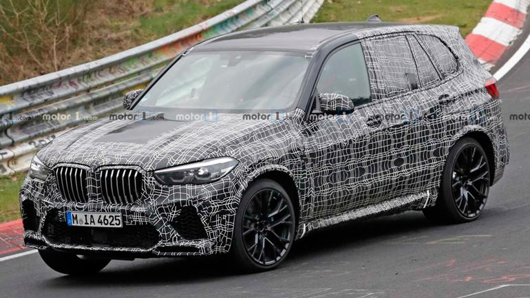 На Нюрбургринге замечен обновленный кроссовер BMW X5 M 1