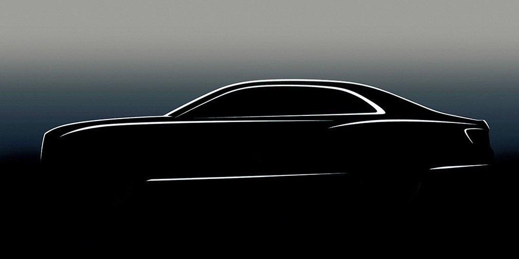Bentley опубликовала первое изображение нового Flying Spur 1