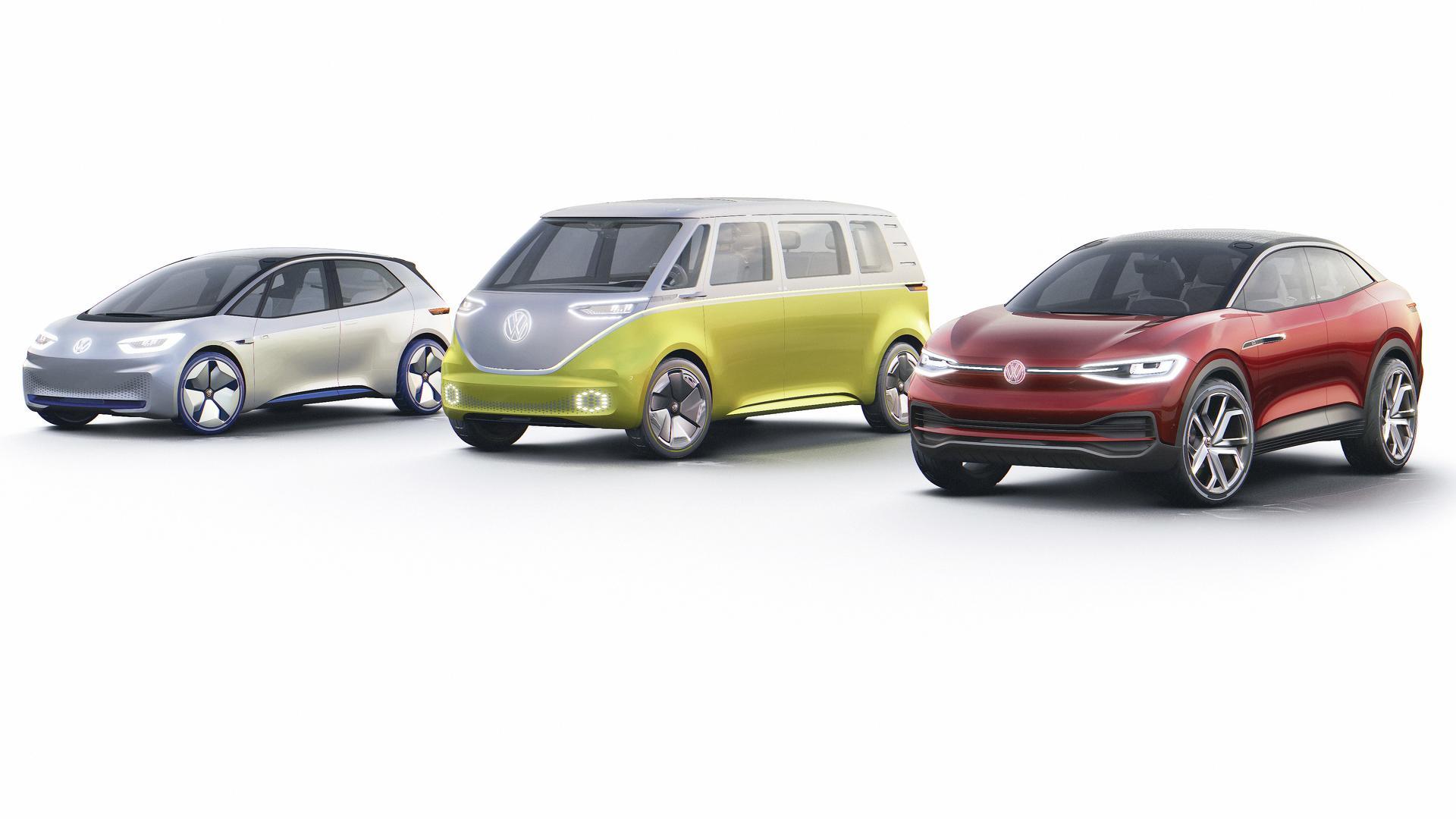 Volkswagen продолжает регистрировать имена для электромобилей 1