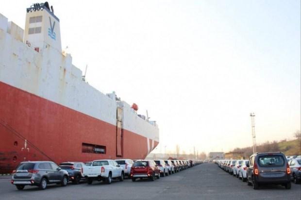 В Украину прибыла крупная партия новых автомобилей 1