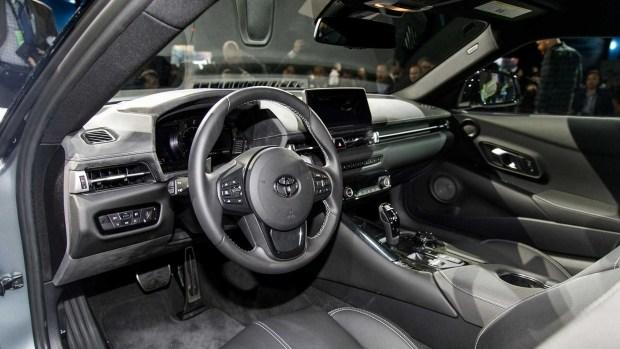 Toyota Supra нового поколения экономит топливо 2