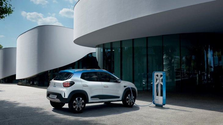 Renault покажет в Шанхае абсолютно новый электрический кроссовер 1