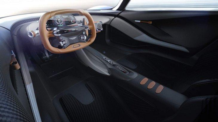 Новые сведения об уникальном гиперкаре AM-RB 003 от Aston Martin 1