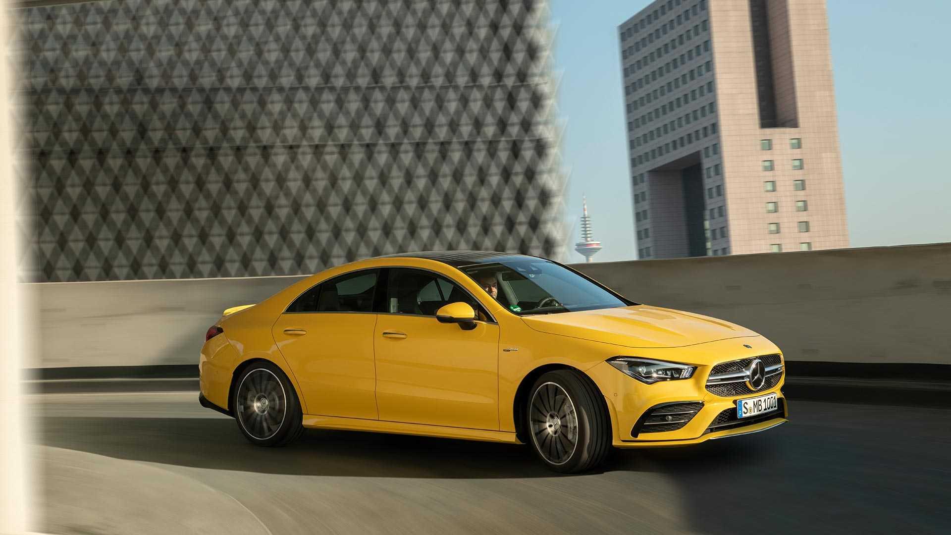 Mercedes-AMG CLA 35 представлен официально 1