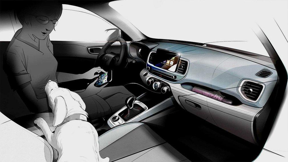 Hyundai показала дизайн нового компактного кроссовера 3