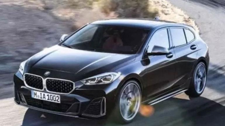 В Сети появились первые «живые» фото переднеприводной модели BMW 1
