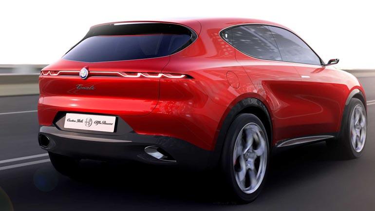Alfa Romeo рассекретила концептуальный гибридный кроссовер 1