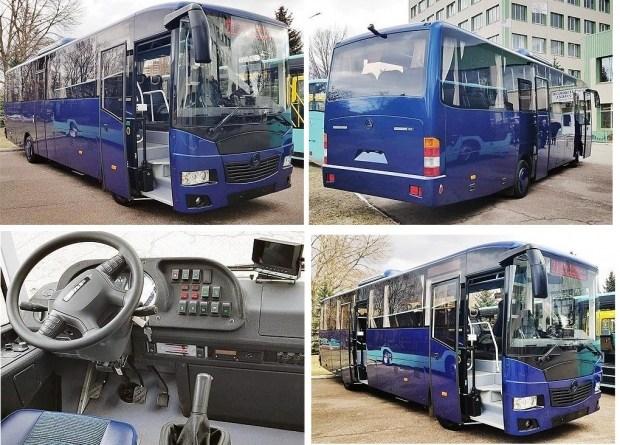 В Украине выпустили люксовую версию автобуса 1