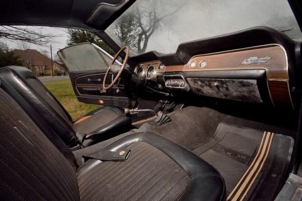 Shelby GT500, покрытый 40-летней пылью, продадут на аукционе 2