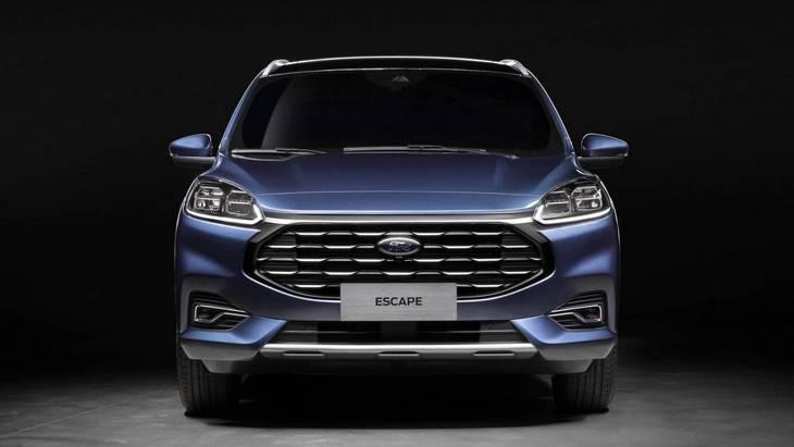 Ford представил китайскую версию Kuga 2