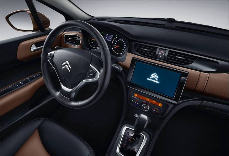 Citroen обновил свою китайскую версию седана C4 2