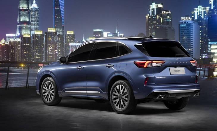 Ford представил китайскую версию Kuga 3