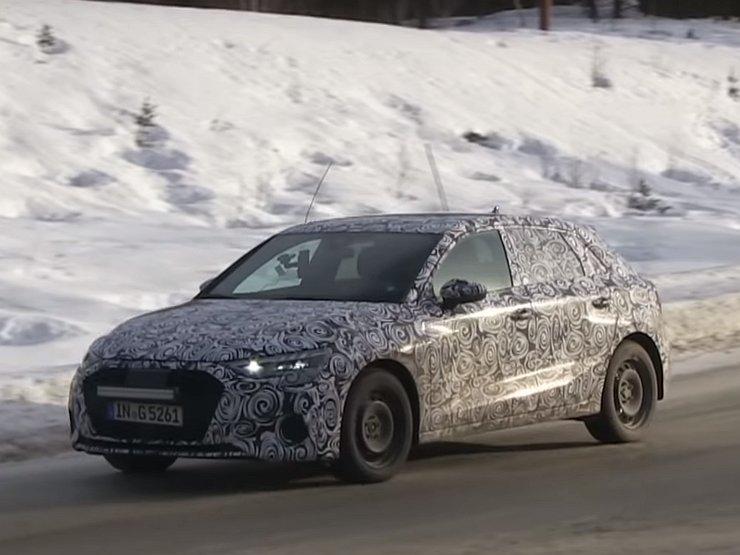Audi A3 Sportback четвертого поколения впервые замечен на тестах 1