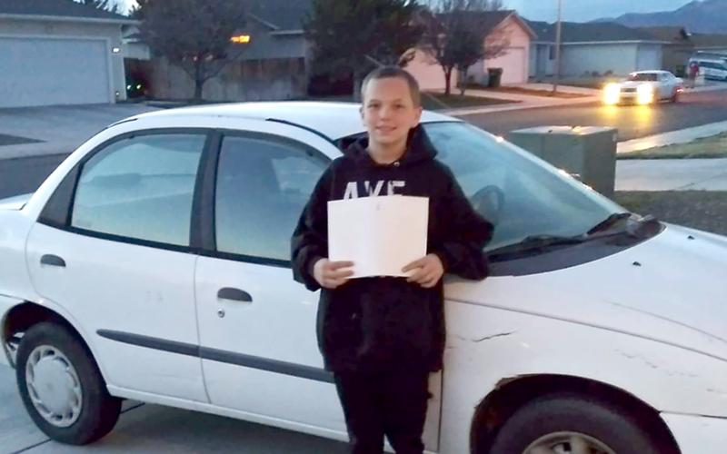 13-летний мальчик обменял свой Xbox на машину для матери 1