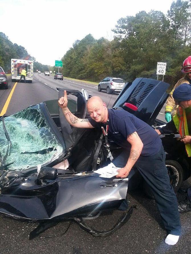 Жуткое ДТП показало супер безопасность автомобиля Toyota 4