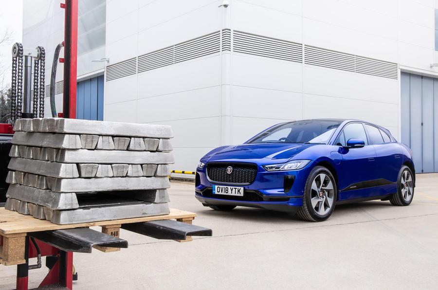 Jaguar Land Rover отрабатывает технологию утилизации алюминия 1
